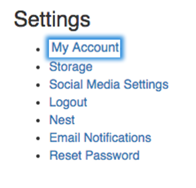 settings my account image
